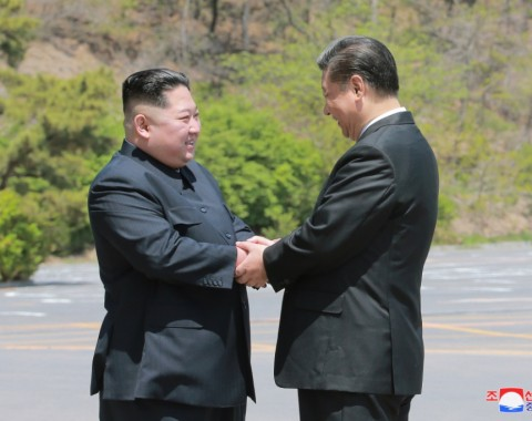 Photo Exhibition: Supreme Leader Kim Jong Un Meets President Xi Jinping - Image