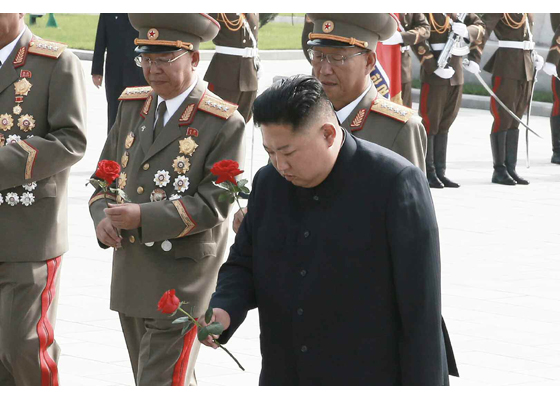 Dear totop IlKim Jong-uncomrades had  On the occasion of the victory of theKorean Liberation War, he searched for the history oftheKorean Liberation War. - Image