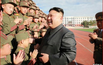 RespectedKim Jong Un Makes Congratulatory Visit to Mangyongdae Revolutionary School - Image
