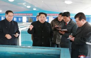 Kim Jong Un Inspects Newly-built Sunchon Catfish Farm - Image