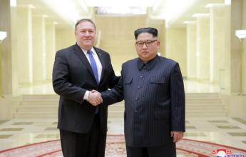 Kim Jong Un Meets U.S. Secretary of State - Image