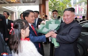 Supreme LeaderKim Jong UnArrives in Hanoi - Image