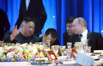 President Vladimir Vladimirovich Putin Hosts Banquet in Welcome of Supreme Leader Kim Jong Un - Image