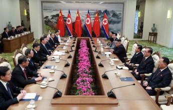 Supreme Leader Kim Jong Un Has Talks with President Xi Jinping - Image