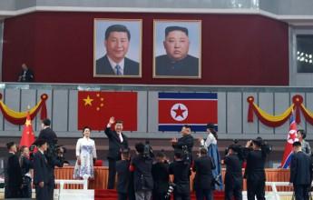 Supreme Leader Kim Jong Un and President Xi Jinping Enjoy Grand Mass Gymnastics and Artistic Performance - Image