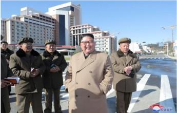 Kim Jong Un Field Guidance to Construction Sites - Image