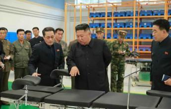 Dear totop IlKim Jong-uncomrades had He directed the Myoyangsan Medical Equipment Factory - Image
