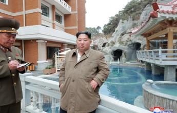 Supreme LeaderKim Jong UnInspects Yangdok Hot Spring Resort Again - Image