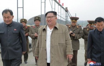 Supreme LeaderKim Jong UnVisits August 25 Fishery Station of KPA and Newly-Built Thongchon Fish-processing Station - Image