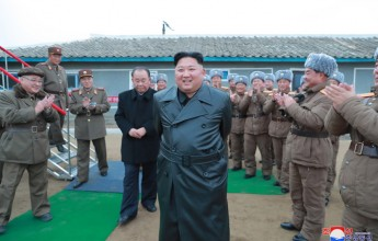 Supreme LeaderKim Jong UnInspects Test-fire of Super-large Multiple Launch Rocket System - Image