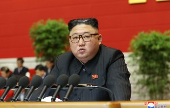 Opening speech at the 8th Congress of the Workers' Party of Korea Kim Jong-un - Image