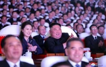 Dear Comrade Kim Jong-un watched the Gwangmyeong Seongjeol Memorial Performance - Image