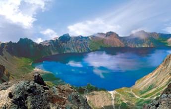 Lake Chon on Mt Paektu - Image